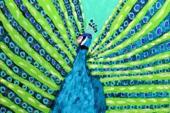 Luis Arispe, Blue Peacock